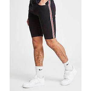 c6b8d223ec ... Supply & Demand Racer Denim Shorts