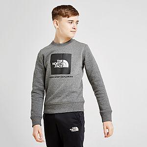291938462 The North Face Box Crew Sweatshirt Junior