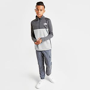 989544b4b The North Face Reactor 1/4 Zip Sweatshirt Junior