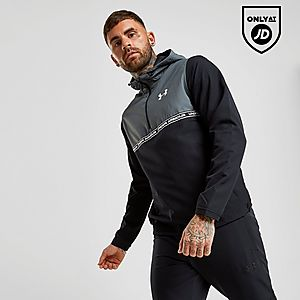 aacbbfe9 Under Armour Sportstyle 1/2 Zip Hooded Jacket