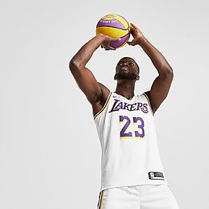 release date: 0b986 40fe2 Nike LeBron James Association Edition Swingman (Los Angeles Lakers) Men's  Nike NBA Connected Jersey