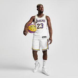 premium selection 21421 7f440 Nike NBA Los Angeles Lakers Swingman Shorts