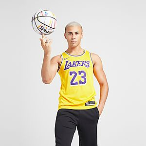 super popular f6377 9b2dc Nike NBA Los Angeles Lakers Swingman James #23 Jersey