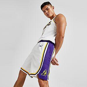 premium selection a061f 7e409 Nike NBA Los Angeles Lakers Swingman Shorts