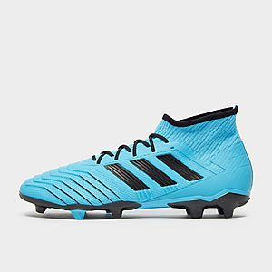 Black,Wht,Blue adidas Ace 17.4 FG Football Boots Children