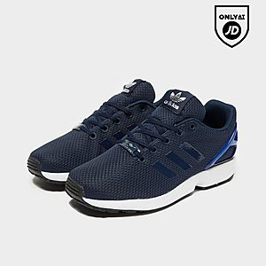 pick up 36e47 8bad1 Junior Footwear (Sizes 3-5.5) - Adidas Originals ZX Flux ...