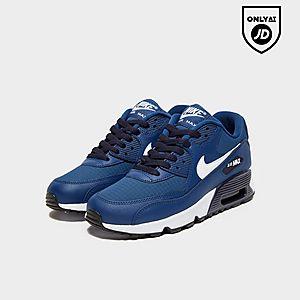 Nike Air Max 90 Mesh Older Kids' Shoe Olive