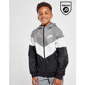 4f130dc63 Nike Sportswear Colour Block Lightweight Jacket Junior ...
