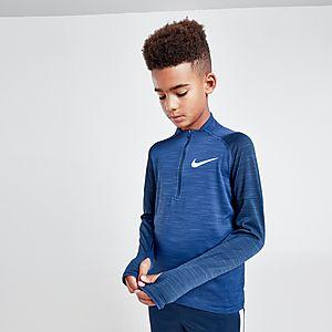5231bccd Nike Dri-FIT Long Sleeve 1/2 Zip Track Top Junior