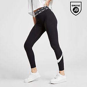 Activewear Bottoms Nike Fit Dry Black/Blue Fitness Pants Bottoms 3/4 Capri Shorts Sz Small Running