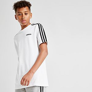 adidas 3 Stripes T Shirt Junior