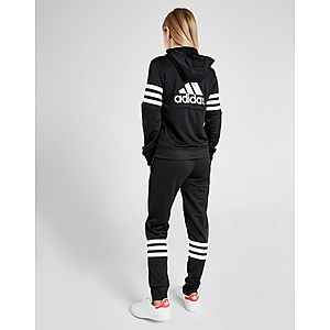 bd52043e ... adidas Girls' 3-Stripes Badge Of Sport Poly Suit Junior