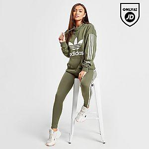 56622875c adidas Originals 3-Stripes Lock Up Boyfriend Hoodie