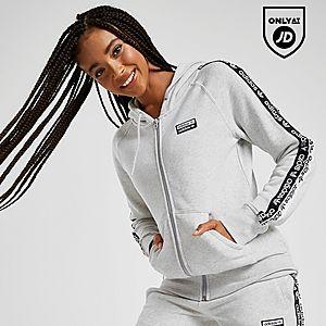 Adidas Originals Tape Crop Overhead Hoody