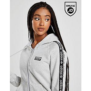11965609 ... adidas Originals Tape Fleece Full Zip Hoodie