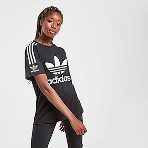adidas Originals 3 Stripes Lock Up Boyfriend T Shirt