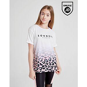 21307ede8e729 Sonneti Girls' Leopard Boyfriend T-Shirt Junior ...