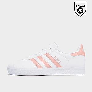 atesorar como una mercancía rara brillo de color diferentemente White Junior Footwear (Sizes 3-5.5) - Adidas Originals Gazelle ...