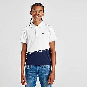 48f2ce45 Lacoste Tape Colour Block Polo Shirt Junior