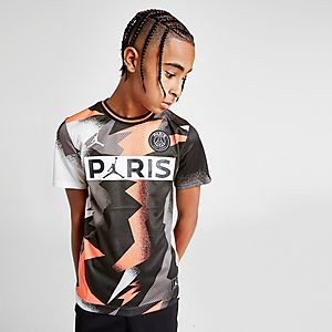 official photos 051c8 f613f Jordan Paris Saint Germain Mesh T-Shirt Junior
