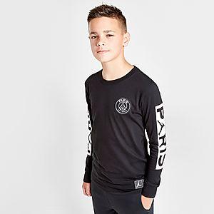 brand new 2ed4d 19d56 Jordan x Paris Saint Germain Wordmark T-Shirt Junior