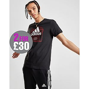 589a450c adidas Badge Of Sport Grid T-Shirt ...