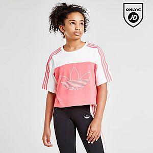 1234e50c19 adidas Originals Girls' Spirit BB Crop T-Shirt Junior