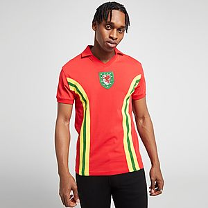 finest selection 7e703 56925 Official Team Wales Home 1976 Shirt