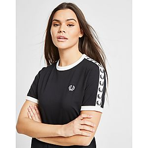 4ad9e970b07c Fred Perry Tape Ringer T-Shirt ...