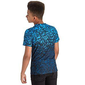 11044210 ... Hype Blue Splats T-Shirt Junior