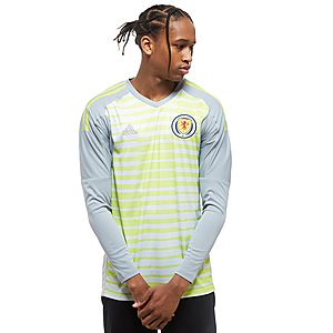 adidas Scotland 2018/19 Home Goalkeeper Shirt