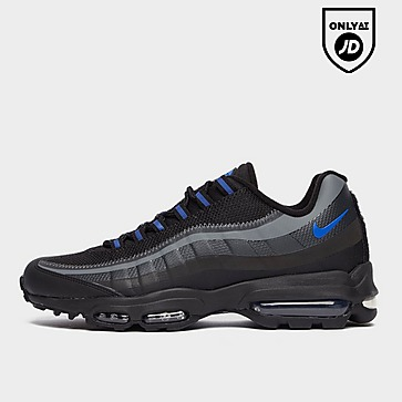 Nike Air Max 95 Ultra Jacquard Black and Sail Mens Trainers