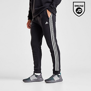 Details about adidas Originals Women's Slim Cuffed Track Pants Casual Joggers 3 Stripe Black