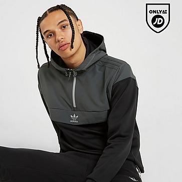 1/2 zip adidas hoodie