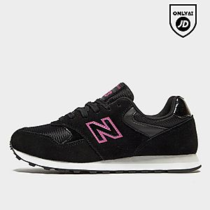 New Balance Rose Gold Slide View 1 Sneakers 373 Womens
