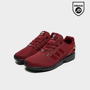 adidas Originals Junior Shoes ZX Flux K BlackBlackFtwr White