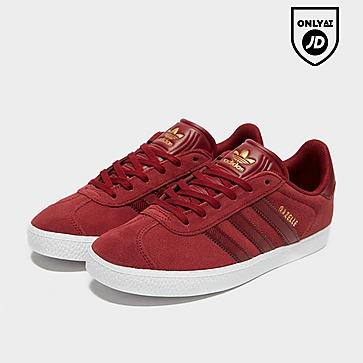 Details zu Adidas Gazelle OG Lace up Retro Classic Fashion Trainers Red Black Blue Navy