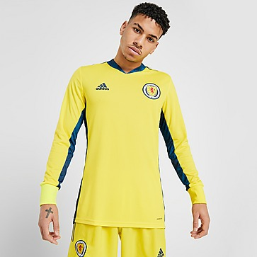 adidas Scotland 2020 Home Goalkeeper Shirt