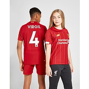 64e180147fd New Balance Liverpool FC 2019/20 Virgil #4 Home Shirt Junior ...
