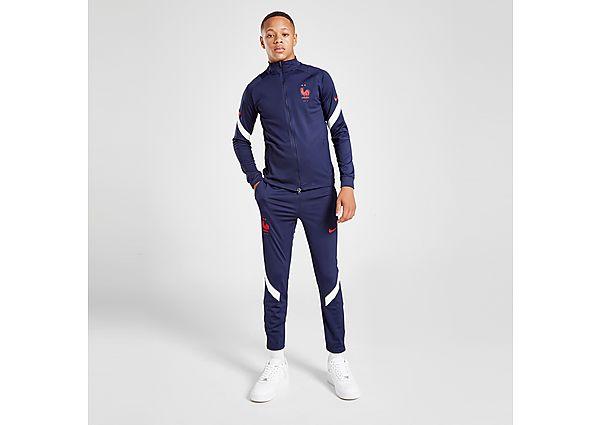 Nike France Strike Tracksuit Junior - Blackened Blue - Kids