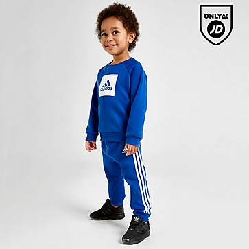 Various sizes! Jogging suit adidas boys blue//grey infant//baby tracksuit