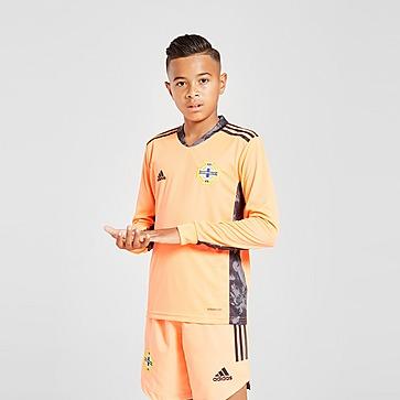 adidas Northern Ireland 20 Away Goalkeeper Shorts Junior