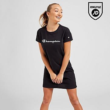 Champion Script Logo T-Shirt Dress