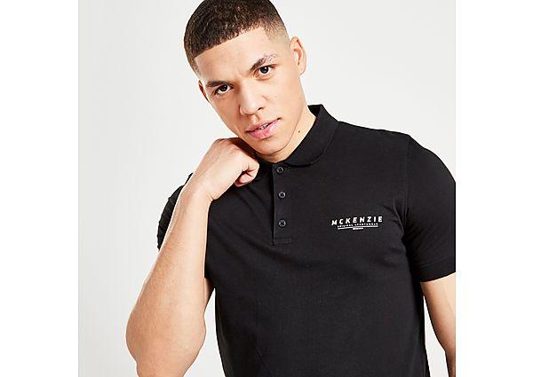 McKenzie Essential Polo Shirt - BLACK - Mens