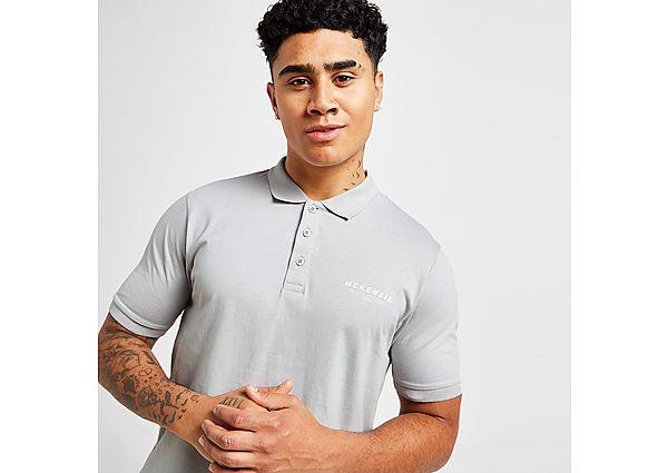 McKenzie Essential Polo Shirt - Grey - Mens