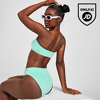 Nike Swoosh High Waist Bikini Bottoms