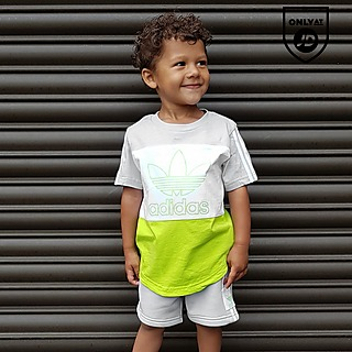 Puma Shorts Set 2 pc Outfit Athletic Sports Tee Bottoms Boys Summer Size 18M 24M