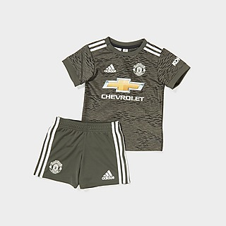 adidas Manchester United FC 2020/21 Away Kit Infant