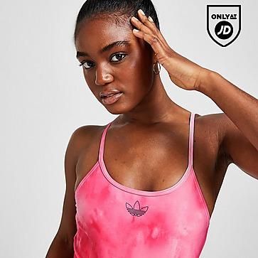 adidas Originals Strappy Tie Dye Swimsuit