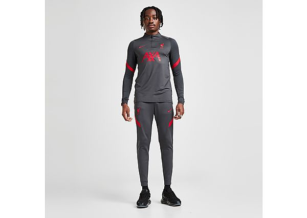 Nike Liverpool FC VaporKnit Strike Track Pants - Anthracite - Mens